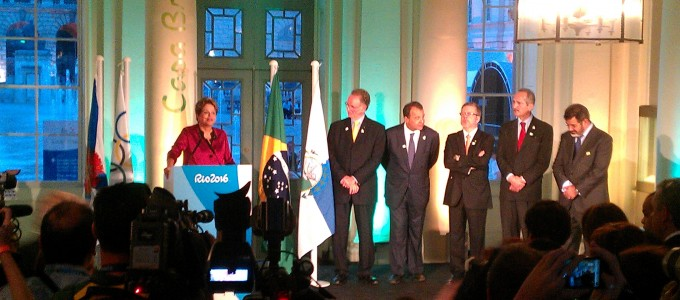 Dilma Rousseff Officially Opens Casa Brasil